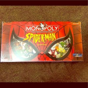Monopoly Marvel Spider Man Collectors sedition NEW